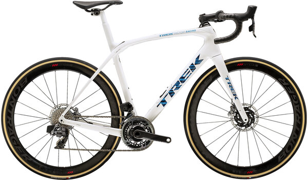 Trek Domane SLR 9 eTap Color: Trek White/Blue