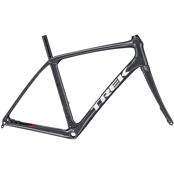 Trek Domane SLR Disc Frameset Color: Solid Charcoal/Trek Black
