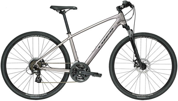 Trek Dual Sport 1 Color: Metallic Gunmetal