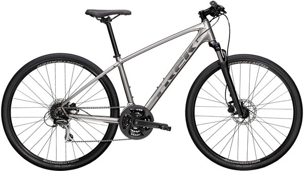 Trek Dual Sport 2 Color: Metallic Gunmetal