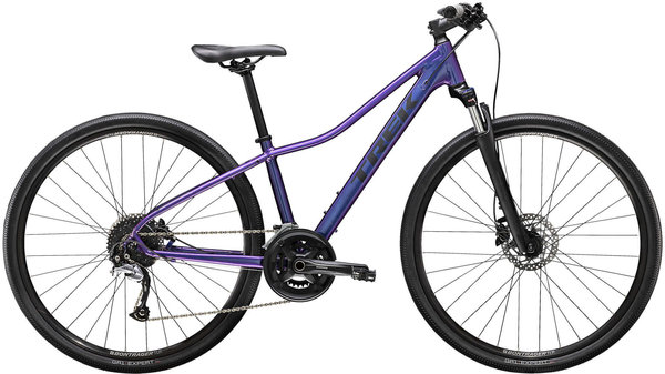 Trek Dual Sport 3 Women's Color: Purple Flip