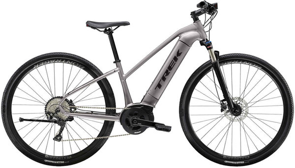 Trek Dual Sport+ Women's Color: Metallic Gunmetal