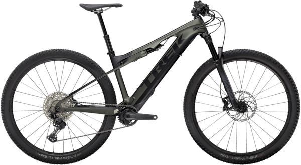 Trek E-Caliber 9.6 Color: Satin Lithium Grey/Trek Black