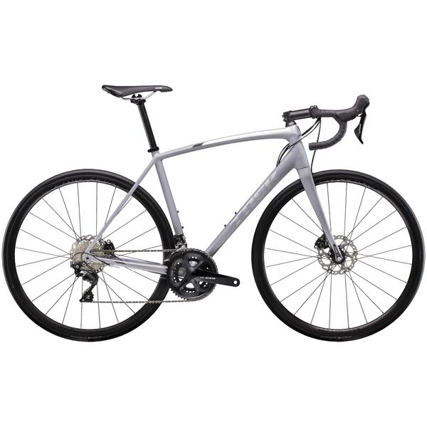 Trek Emonda ALR 5 Disc Color: Matte Gravel/Gloss Quicksilver