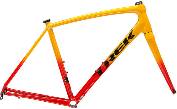 Trek Emonda ALR Frameset Color: Radioactive Red to Marigold Fade