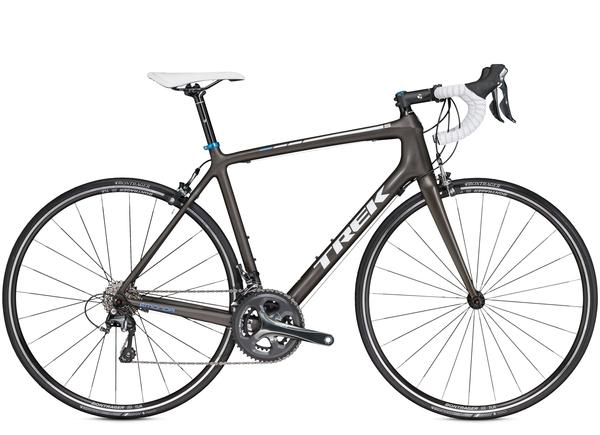 Trek Emonda S 4 Color: Matte Dark Roast Black