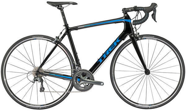 Trek Emonda S 4 Color: Trek Black/California Sky Blue