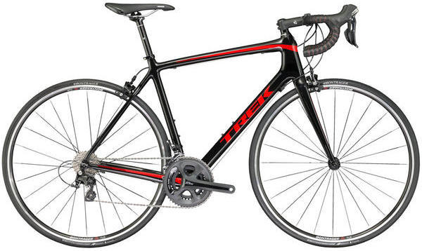 Trek Emonda S 5 Color: Trek Black/Viper Red