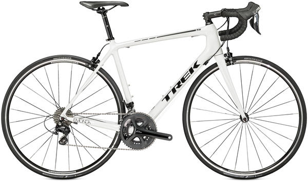 Trek Emonda S 5 Color: Crystal White/Trek Black