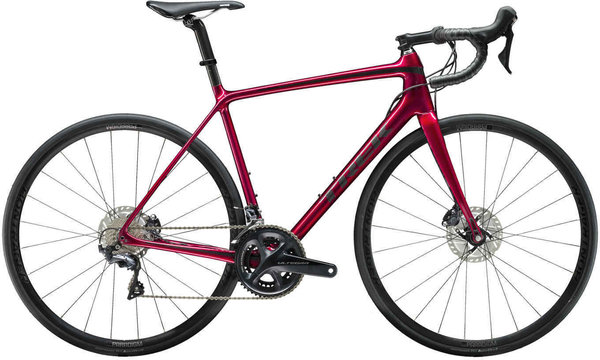 Trek Emonda SL 6 Disc Color: Rage Red/Onyx Carbon