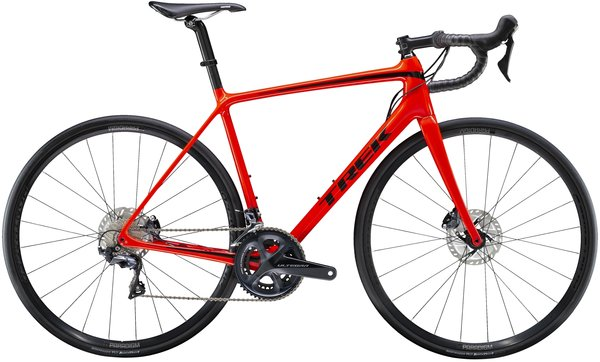 Trek Emonda SL 6 Disc Color: Radioactive Red/Black