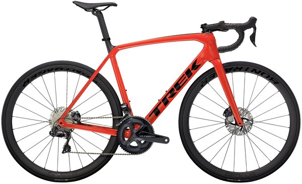 Trek Emonda SL 7 Color: Gloss Radioactive Red/Matte Carbon