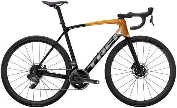Trek Emonda SL 7 eTap Color: Carbon Smoke/Factory Orange