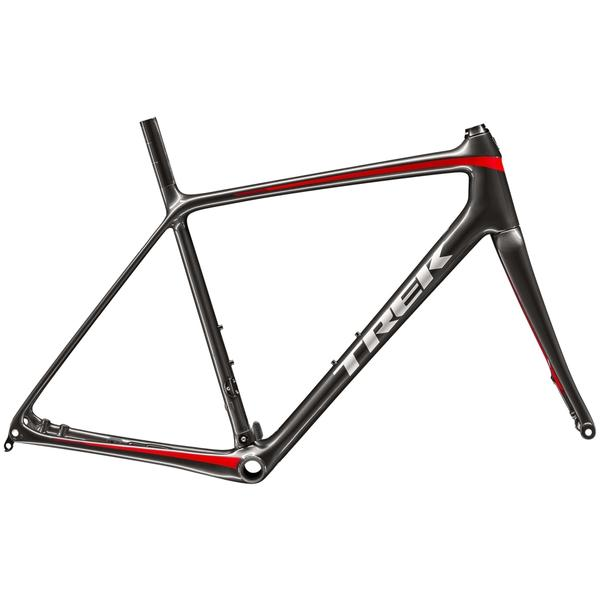 Trek Emonda SL Disc Frameset Color: Dnister Black/Viper Red