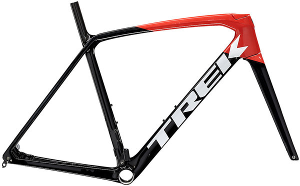 Trek Emonda SL Frameset Color: Trek Black/Radioactive Red