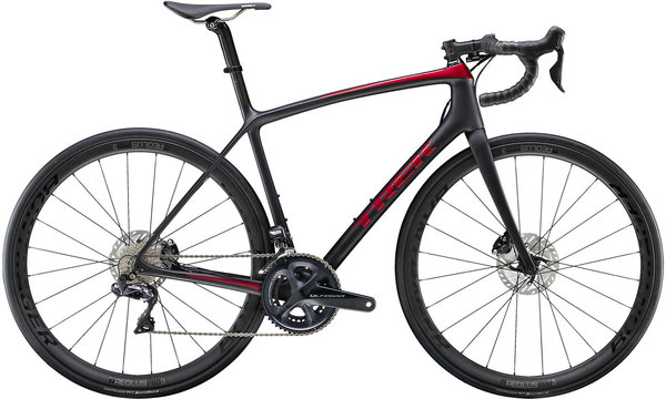 Trek Emonda SLR 7 Disc Color: Matte Trek Black/Gloss Rage Red