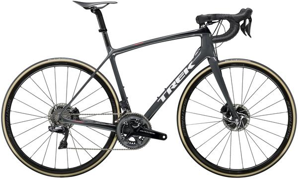 Trek Emonda SLR 9 Disc Color: Solid Charcoal/Trek Black