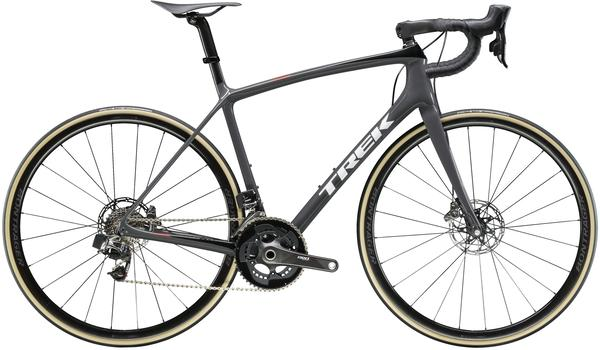 Trek Emonda SLR 9 Disc eTap Color: Solid Charcoal/Trek Black