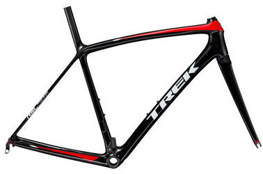 Trek Emonda SLR RSL Frameset Color: Trek Black/Viper Red
