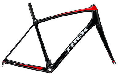 Trek Emonda SLR Frameset Color: Trek Black/Viper Red