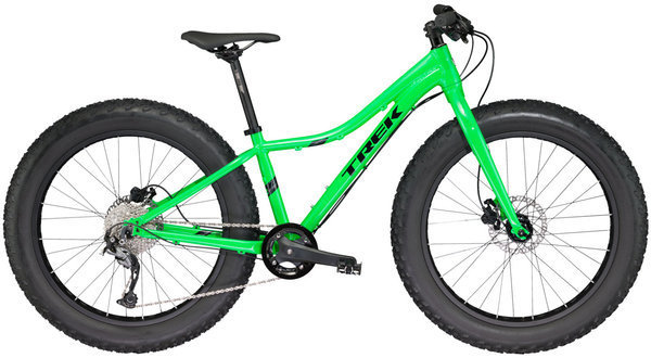 Trek Farley 24 Color: Green-light