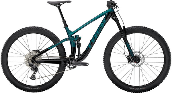 Trek Fuel EX 5 Color: Dark Aquatic/Trek Black