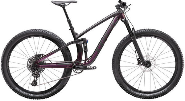 Trek Fuel EX 7 NX Color: Matte Dnister Black/Sunburst