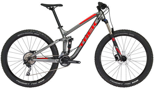 Trek Fuel EX 5 Plus Color: Matte Anthracite