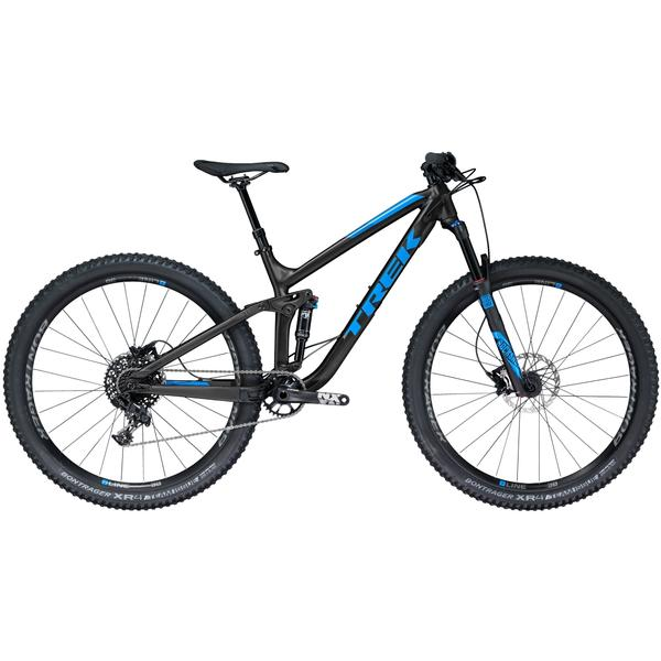 Trek Fuel EX 7 29 Color: Matte Trek Black/Gloss Waterloo Blue