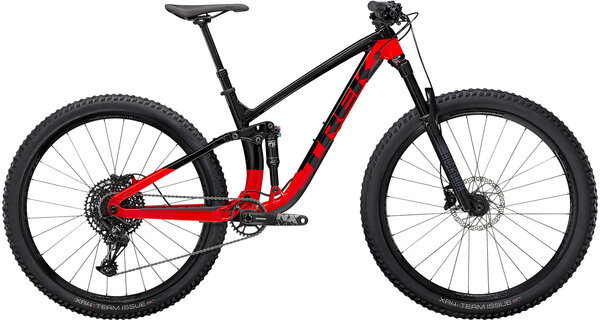 Trek Fuel EX 7 Color: Trek Black/Radioactive Red