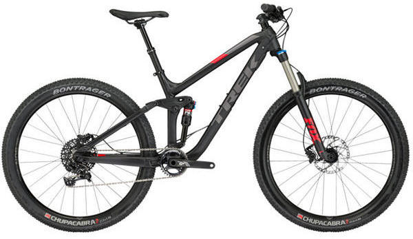 Trek Fuel EX 8 27.5 Plus Color: Matte Trek Black