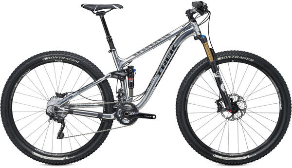 Trek Fuel EX 9 29 Color: High Polish Aluminum