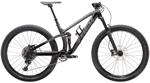 Trek Fuel EX 9.7 Color: Matte Raw Carbon/Gloss Trek Black