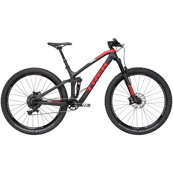Trek Fuel EX 9.7 29 Color: Matte Trek Black/Viper Red