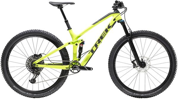 Trek Fuel EX 9.7 29 Color: Volt/Solid Charcoal
