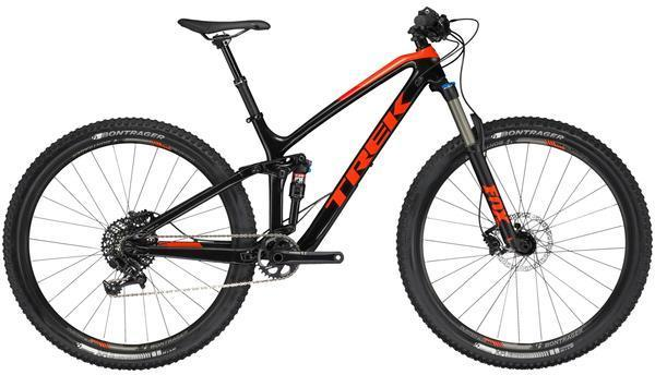 Trek Fuel EX 9.7 29 Color: Trek Black/Roarange