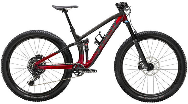Trek Fuel EX 9.8 Color: Raw Carbon/Rage Red