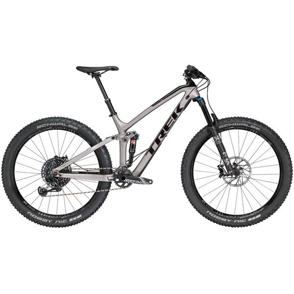 Trek Fuel EX 9.8 27.5 Plus Color: Matte Gunmetal/Gloss Black
