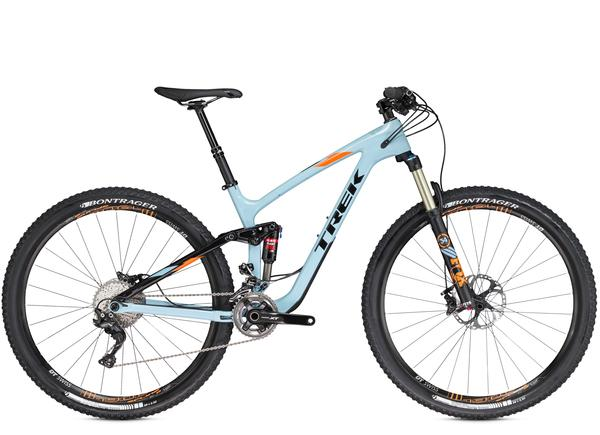 Trek Fuel EX 9.8 29 Color: Powder Blue