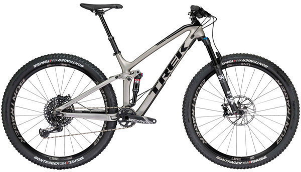 Trek Fuel EX 9.8 29 Color: Matte Gunmetal/Gloss Black