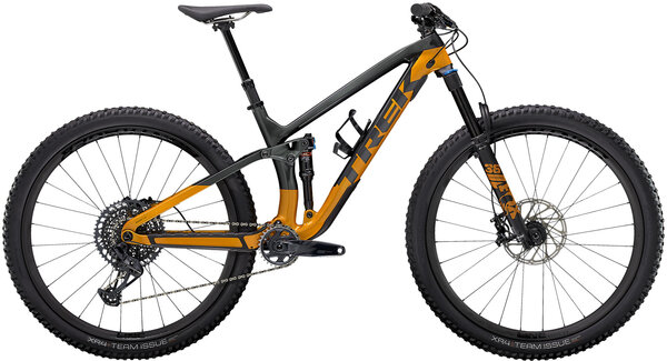 Trek Fuel EX 9.8 GX Color: Lithium Grey/Factory Orange