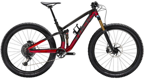 Trek Fuel EX 9.9 Color: Raw Carbon/Rage Red