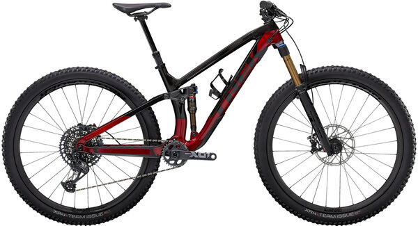 Trek Fuel EX 9.9 X01 Color: Raw Carbon/Rage Red
