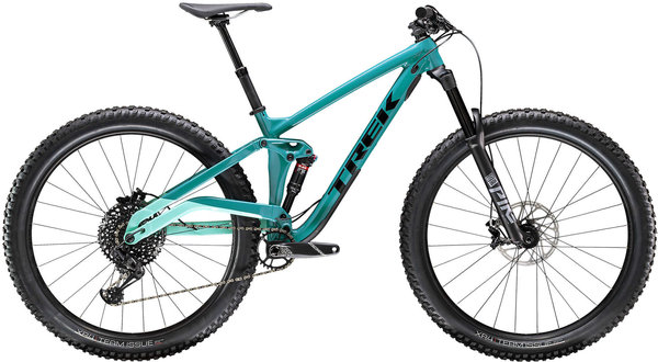 Trek Full Stache 8 Color: Teal/Miami Green