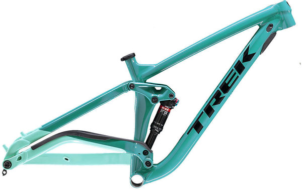 Trek Full Stache Frame Color: Teal/Miami Green