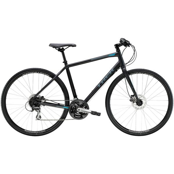 Trek FX 2 Disc Color: Matte Trek Black