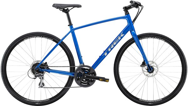 Trek FX 2 Disc Color: Alpine Blue