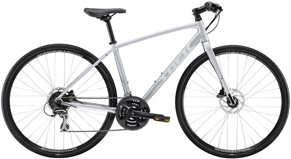 Trek FX 2 Disc Women's Color: Matte Quicksilver