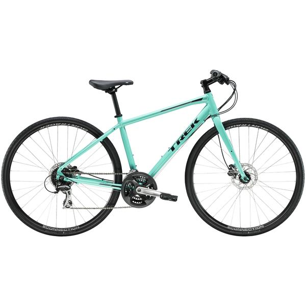 Trek FX 2 Women's Disc Color: Miami Green