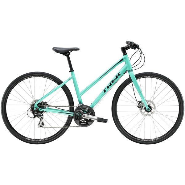 Trek FX 2 Women's Disc Stagger Color: Miami Green